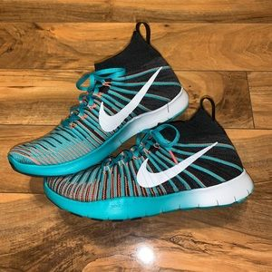 😱 MENS SIZE 11.5 NIKE FREE TRAIN FORCE FLYKNIT